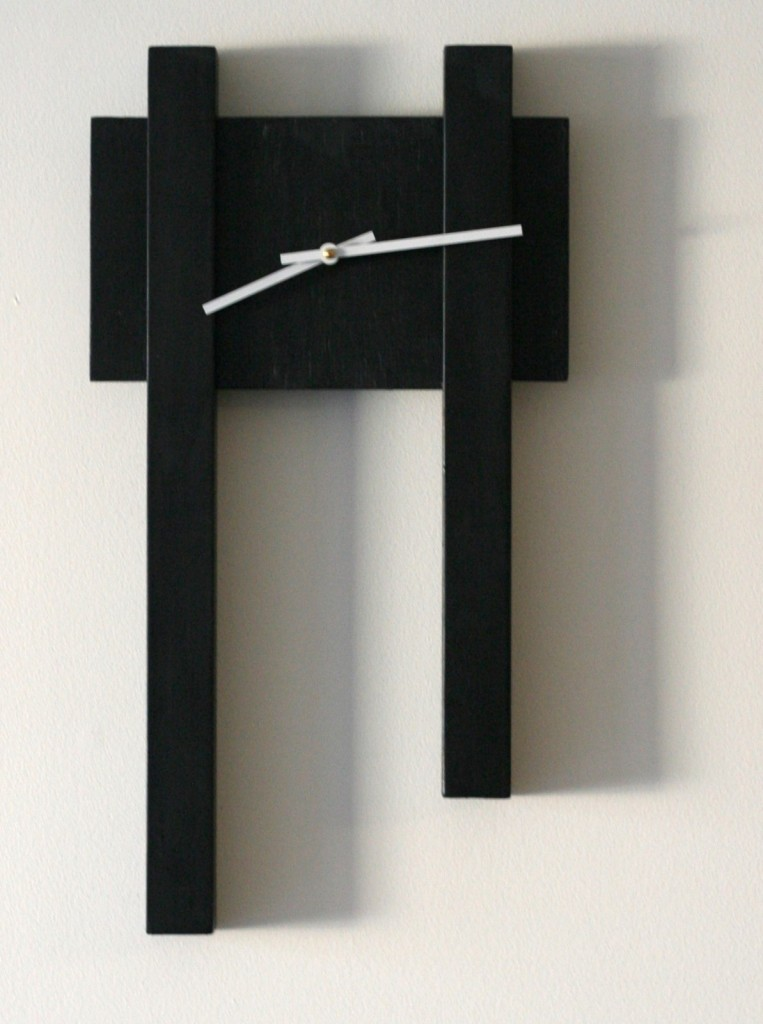 Black Bar Clock