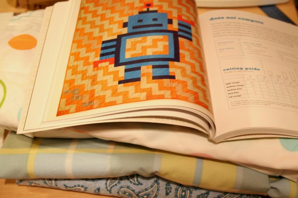 Beginnings of a Robot Quilt