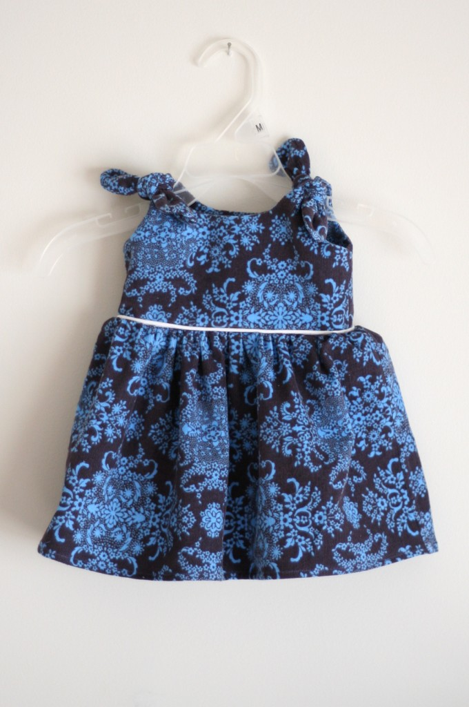 Itty Bitty Baby Dress - cord version