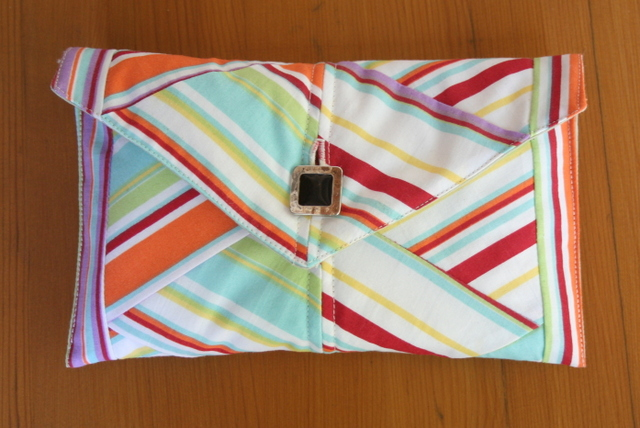 rainbow clutch