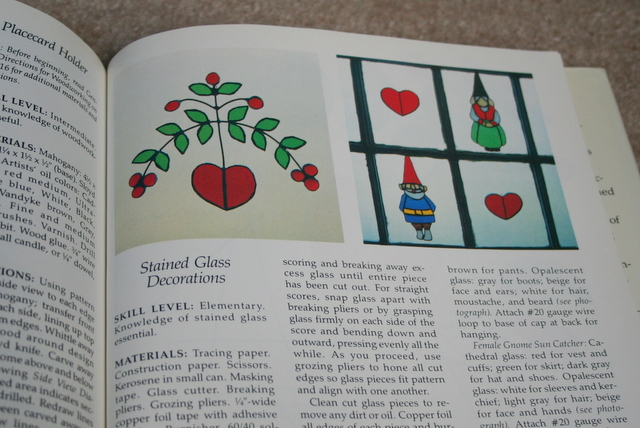 gnome stained glass