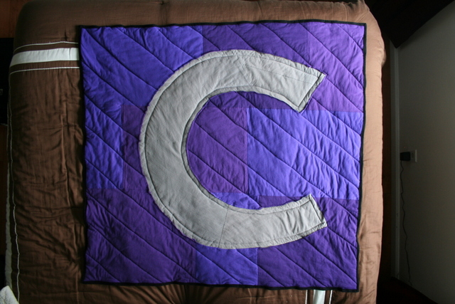 C is for Chloe quilt
