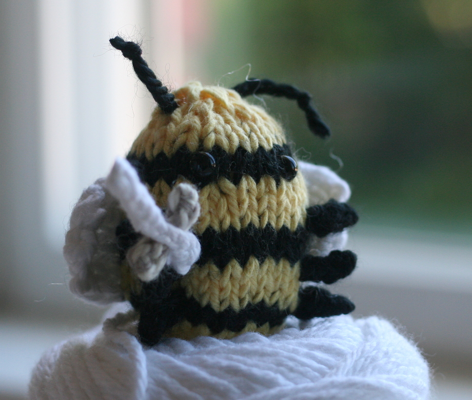 knitted killer bee