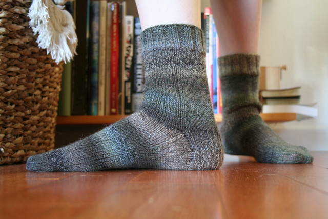 basic knitted socks